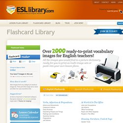 ESL Library - English Lesson Plans, English Flashcards, for ESL Teachers