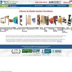 Hertz Library & Media Center Furniture