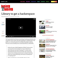 Library to get a hackerspace