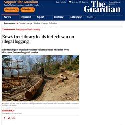 Kew's tree library leads hi-tech war on illegal logging