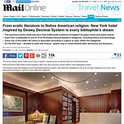 New York's Library Hotel inspired by Dewey Decimal system