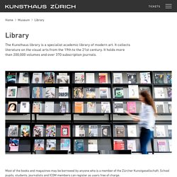 Library – KUNSTHAUS