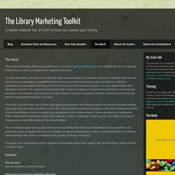 The Library Marketing Toolkit: The Book
