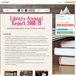 Library Annual Report 2018-19 (Kathryn B)