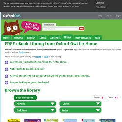 Oxford Owl from Oxford University Press