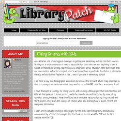 Library Patch: Citing Sources with Kids