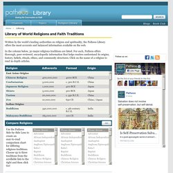 Library of World Religions and Faith Traditions