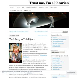 The Library as Third Space