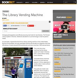 The Library Vending Machine - BOOK RIOT