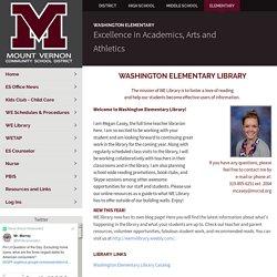 WE Library - Washington Elementary