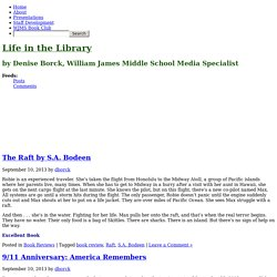 by Denise Borck, William James Middle School Media Specialist