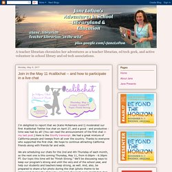 Jane Lofton's Blog: How to participate in a live chat