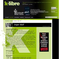 k-libre - auteur - Inger Wolf