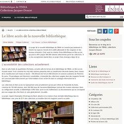 Le libre accès de la nouvelle bibliothèque - INHA
