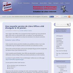 Libre Office 4.2 est sorti