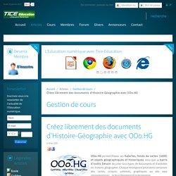 Créez librement des documents d'Histoire-Géographie avec OOo.HG