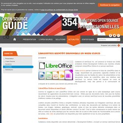 LibreOffice bientôt disponible en mode cloud