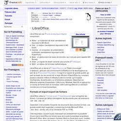 LibreOffice - Bureautique