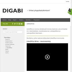 LibreOffice - Digabi