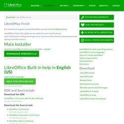 LibreOffice - Les gens fantastiques - Free Office Suite - Fun projet