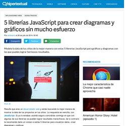 5 librerías JavaScript para gráficos