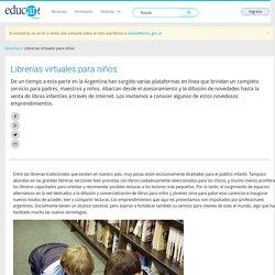Librerías virtuales para niños - Educ.ar
