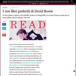 I 100 libri preferiti di David Bowie