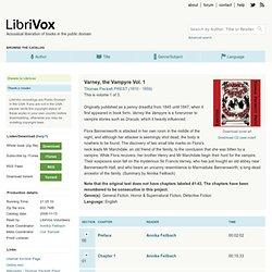LibriVox: Varney the Vampire