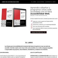 Libro de Accesibilidad Web. WCAG 2.1, ARIA y PDFs accesibles.