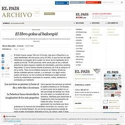 El libro golea al balompié · ELPAÍS.com