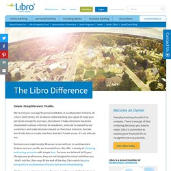The Libro Difference