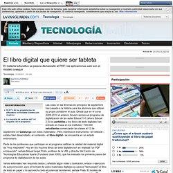 El libro digital que quiere ser tableta