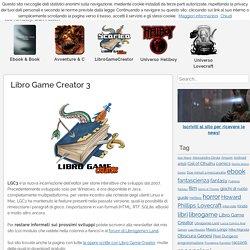 Libro Game Creator 3