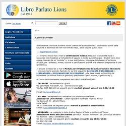 Libro Parlato Lions -