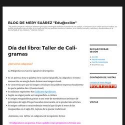 Día del libro: Taller de Caligramas