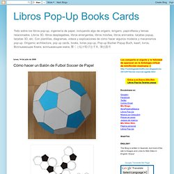 Libros Pop-Up Books Cards