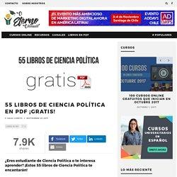 55 Libros de Ciencia Política en PDF ¡Gratis!