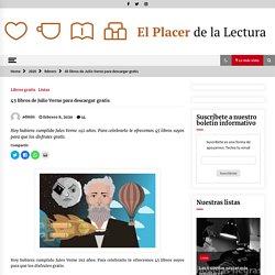 45 libros de Julio Verne para descargar gratis – El Placer de la Lectura