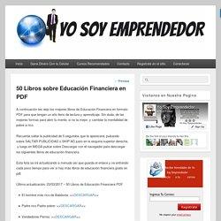 50 Libros sobre Educación Financiera [PDF]