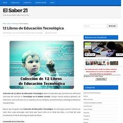 12 Libros de Educación Tecnológica
