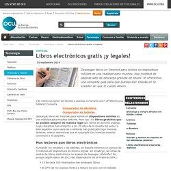 ebooks gratis y legales