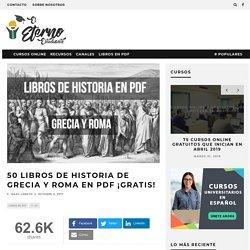 50 Libros de Historia de Grecia y Roma en PDF ¡Gratis!