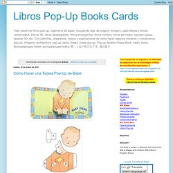 Libros Pop-Up Books Cards: Bebes