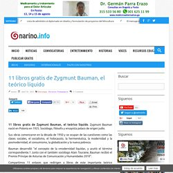 11 libros gratis de Zygmunt Bauman, el teórico líquido