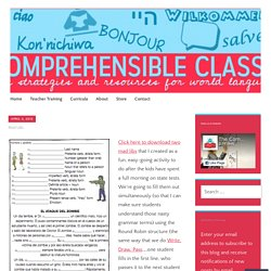 Mad Libs – The Comprehensible Classroom