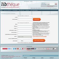 Libthèque - Le site du Livre Interactif Belin