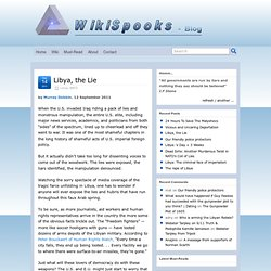 Wikispooks blog