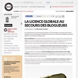 La licence globale au secours des blogueurs