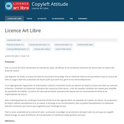 Copyleft Attitude