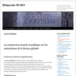 Éthique des TIC 2011